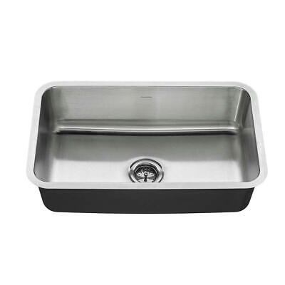 American Standard Undermount Stainless Steel 30 in. Single Bowl Kitchen Sink Kit