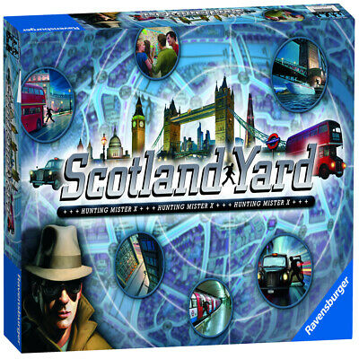 Ravensburger Scotland Yard Hunting Mr X Crime Scene Board Game - 26646
