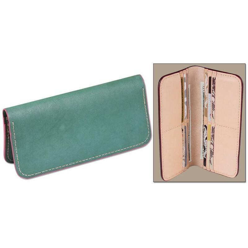 Classic Card Wallet Clutch Kit By Tandy 3 Pack Free Shipping