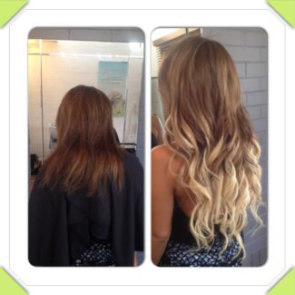 PREMIUM TAPE HAIR EXTENSIONS Russian 20inch $280 incl cut  Clear Island Waters Gold Coast City Preview