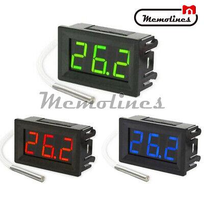Xh-b310 Thermocouple K-type Dc 12v Digital Led Diaplay Thermometer Probe Sensor