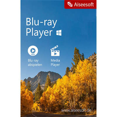 Blu-ray Player Aiseesoft dt.Vollver.Lifetime Lizenz Download 14,99 statt