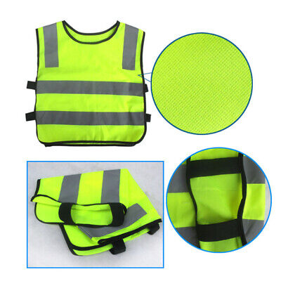 Safety Security Visibility Reflective Vest Construction Trafficwarehouse Kids