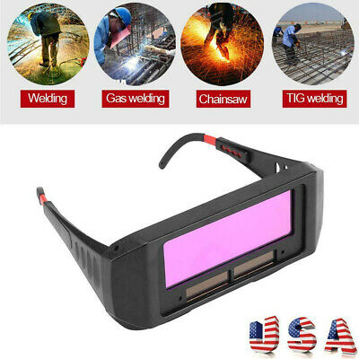 Automatic Photoelectric Welding Glasses Solar Powered Auto Darkening Welding Mas