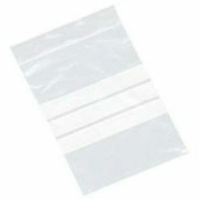 "1.5x 2.5/"" 1000 Grip Seal Write Panel Bags GA020"