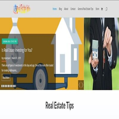 Real Estate Wordpress Website Woocommerce And Wp Commission Machine Plugin Incl