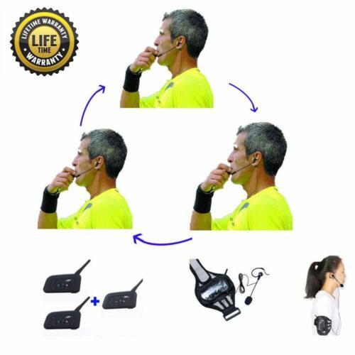 Referee Headset 3 Referees Talk Same time Football Communication Earphone