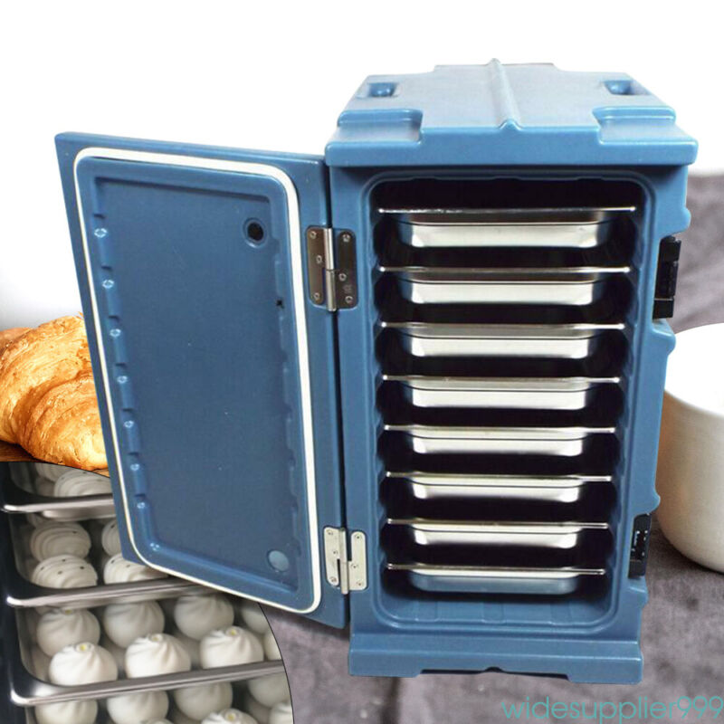 Insulated Food Pan Chafing Dish Hot Cold Cooler Carrier Box Commercial Catering