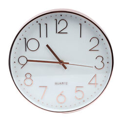 Modern Wall Clock Silent Non-Ticking Quartz Decorative Battery Operated