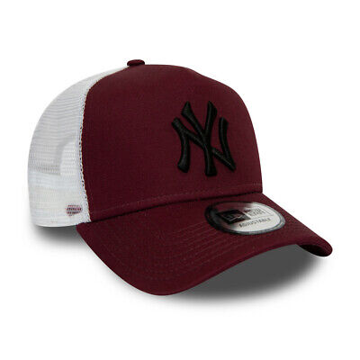 NEW ERA NEW YORK YANKEES TRUCKER CAP.9FORTY A FRAME SNAPBACK BASEBALL HAT S20