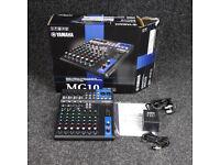 Yamaha MG10 10-Channel Mixing Console w/Box & PSU - 10-Channel Mixer