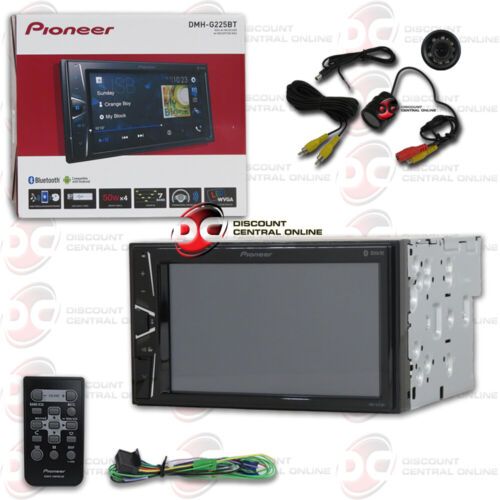 """PIONEER 6.2"""" TOUCHSCREEN USB CAR BLUETOOTH STEREO + REMOTE FREE REAR CAMERA"""