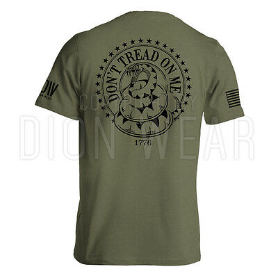Dont Tread On Me American Gadsden Flag T Shirt S 3Xl