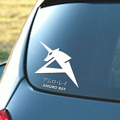 "GUNDAM AMURO RAY Funny Vinyl Decal Sticker Car Window bumper laptop tablet 6"""
