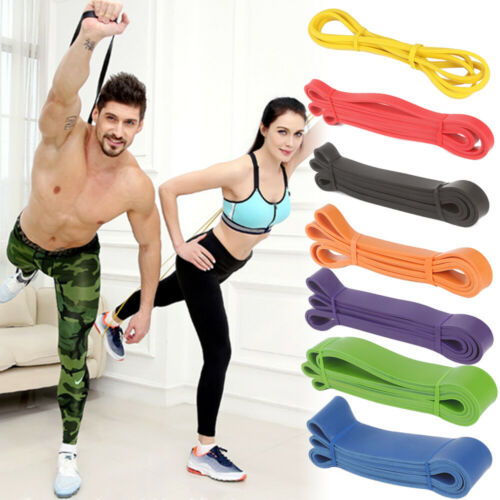 Exercise Bands Latex Resistance elastic Band – Pull Up Assist Bands GYM Fitness, Running & Yoga