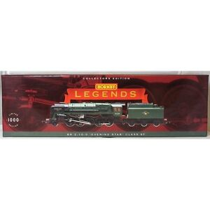 HORNBY 00 Gauge Loco R3072M Legends BR 2-10-0 Evening Star Class 9F - 92220