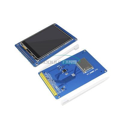 3.2inch Tft Lcd Display Module Touch Panel Sd Card Cage For Arduino