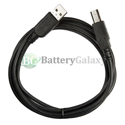 100 NEW 6FT USB 2.0 Considerable Speed A-B for HP Canon Dell Epson Companion Printer Cable