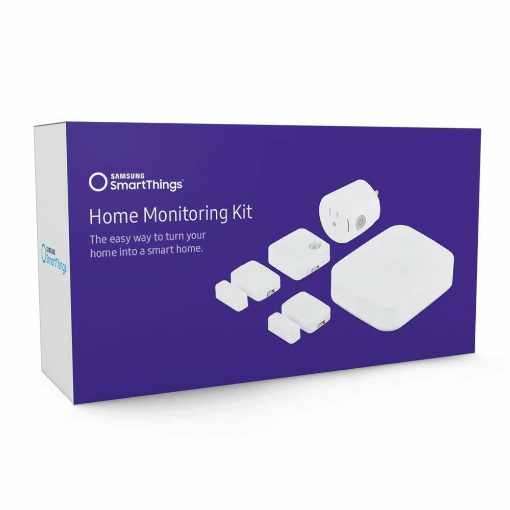 Samsung SmartThings F-MN US-2 Home Monitoring Kit, White
