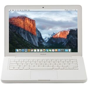 """REFURBISH Apple Mc516ll/a/c2d/2.4/4gb/250gb/10.11 Refurbished 13.3"""" Macbook"""
