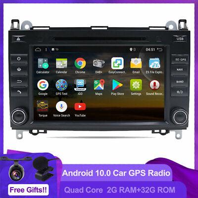 """8"""" Autoradio GPS DVD Navi Für Mercedes Benz Sprinter Android 10 CAR DAB+ BT AUX"""