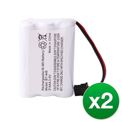 Replacement For Uniden BT1005 Cordless Phone Battery (800mAh, 3.6V, Ni-MH)2 Pack