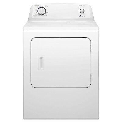 Amana NED4655EW 6.5CF 11 Cycle Front Load Electric Dryer White