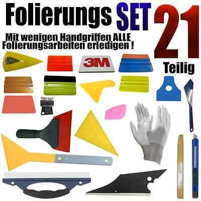 21 Teiligen Folierung Set – Rakel Set - Vollfolierung - Auto Folien - A1 gebraucht kaufen  Reutlingen