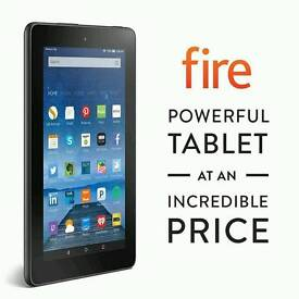 Amazon Fire 7 tablet with kodi and showbox
