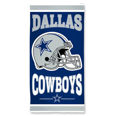 NFL großes Badetuch DALLAS COWBOYS Handtuch Strandtuch Towel Helm ()
