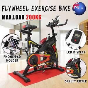 Commercial Spin Bike Flywheel Gym Fitness Brand New