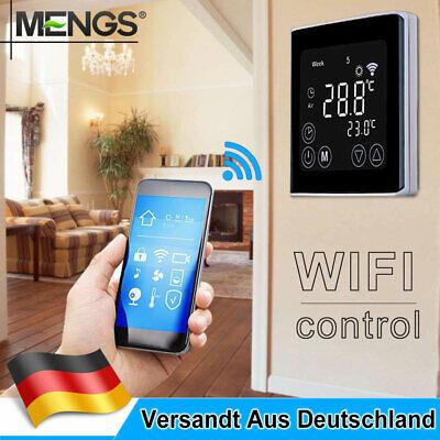LCD Touchscreen WiFI Thermostat Programmierbar FußBodenheizung Raumthermostat DE