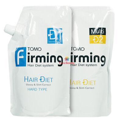 [Rebonding] TOMO Firming Hair Diet System [HARD] 500ml+500ml for Healthy hair