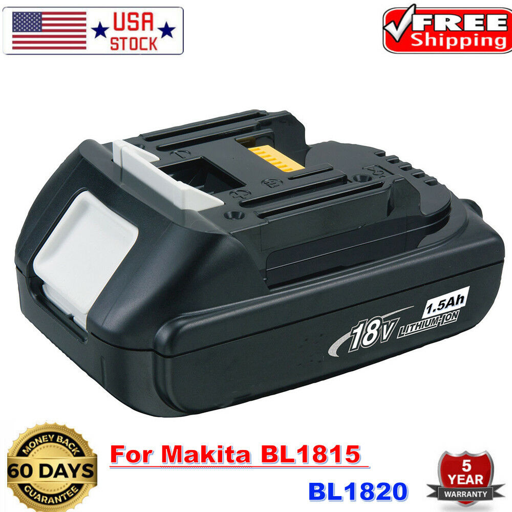 18V 2.0Ah Lithium Battery 18 Volt For Makita LXT BL1830 BL18