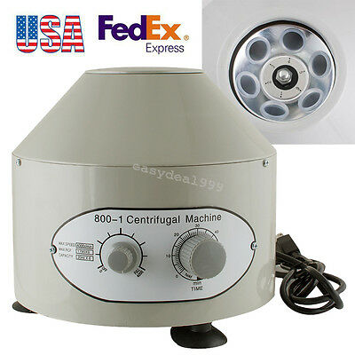 Large Capacity 800-1 Electric Centrifuge Machine 4000rpm Lab Medical Practice Us