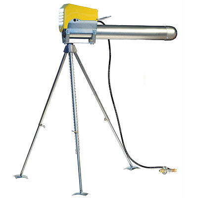 Zon Gun Cannon Rotating Tripod  360 degree coverage for the Bird Scare Cannon