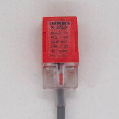 Pl-08n2 Inductive Proximity Sensor Npn Nc 8mm