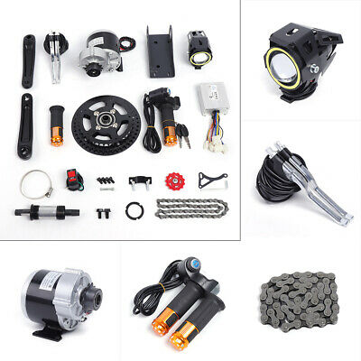 450W 48V Electric Bicycle Mid-Drive Motor Conversion Kit Refit E-bike Parts