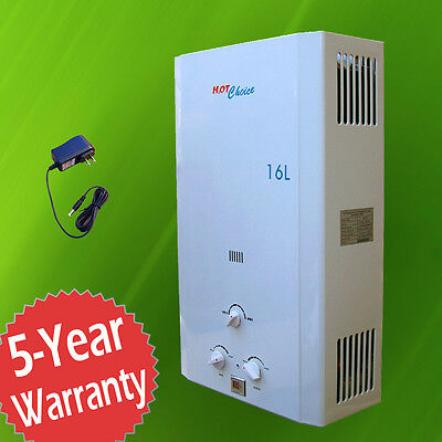 Brand New Natural Gas Tankless Water Heater 16L Whole House   Hot Choice