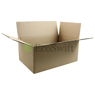 1-100 9x6x4 Ecoswift Cardboard Packing Mailing Shipping Corrugated Box Cartons