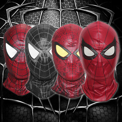 Spiderman face The Amazing Spider Man mask Balaclava Hood Cosplay - Spiderman Venom Mask
