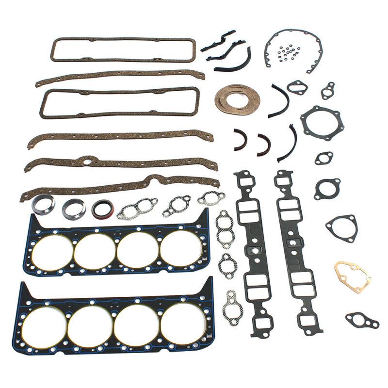 SBC Complete Engine Rebuild Gasket Set w//Head Gaskets 327 350 383 400