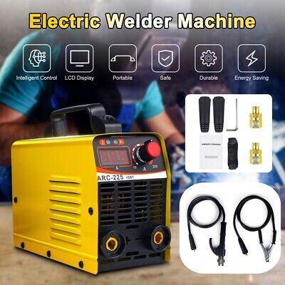 110v Igbt Mini Electric Welder Machine 10a-225a Dc Inverter Arc Mma Stick Welder