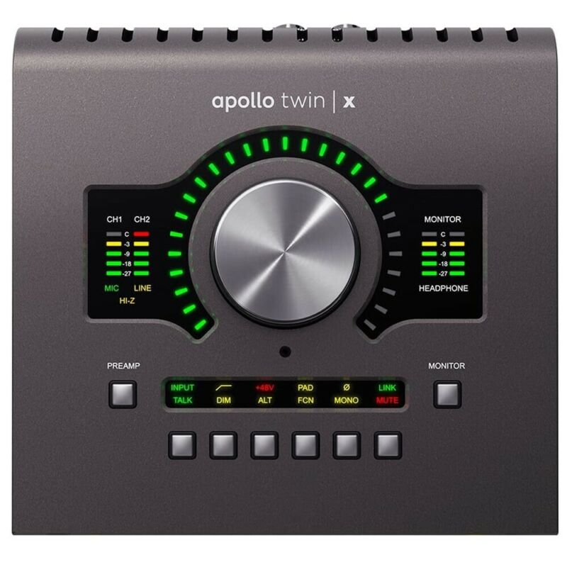 Universal Audio APLTWXD Apollo Twin X Duo Thunderbolt 3 Audio Interface