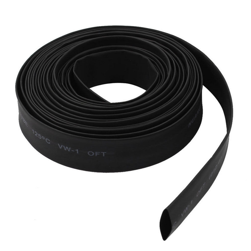 """33' Feet 3/16"""" 5mm 2:1 Heat Shrink Tubing Wire Wrap Assortment Cable WYS Sales"""