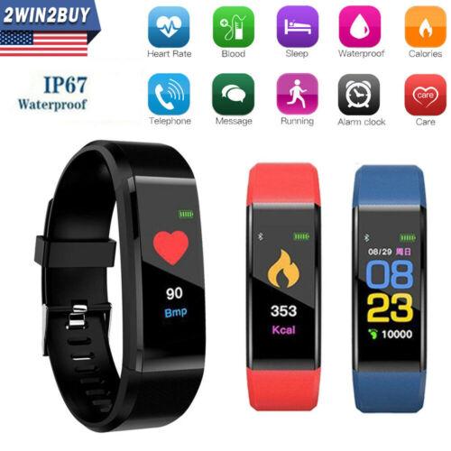 Fitness Tracker Sports Smart Watch Wristband Blood Pressure/