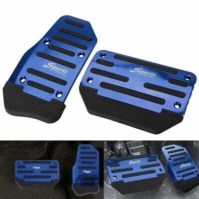 [BLUE] Non-Slip Automatic Gas Brake Foot Pedal Pad Cover Car Accessories Parts