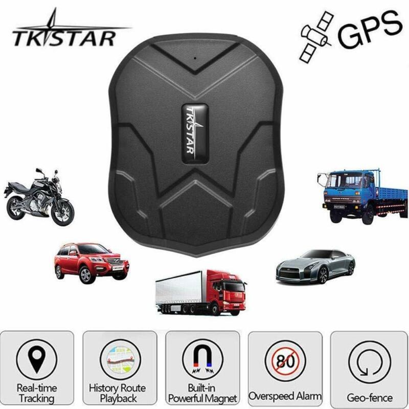 TKSTAR Hidden Vehicles GPS Tracker, Waterproof Real Time Car GPS Locator