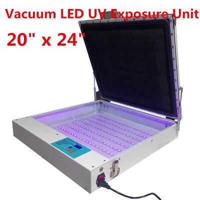 Tabletop Precise 20 X 24 80w Vacuum Led Uv Exposure Unit Screen Equipment