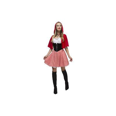 Smi - Fever Damen Kostüm Dirndl Rotkäppchen Karneval Fasching